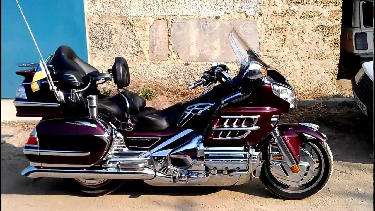 Honda Gold Wing Gl 1800 2006 Youtube