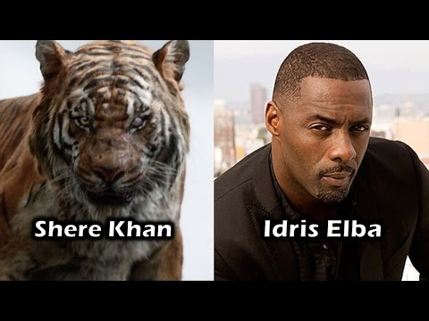 Characters And Voice Actors - The Jungle Book (2016)