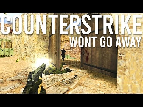 Counter-Strike won't go away. 1 Million concurrent players!