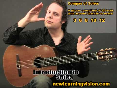 Demo of Flamenco Guitar Lesson for Beginners - Part 2 by Adam del Monte