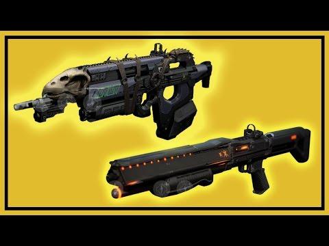 Destiny: Exotic Pulse Rifle Bad Juju & Shotgun Invective - Exotic Weapon Bounties video