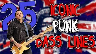 Another 25 ICONIC Punk Bass Lines