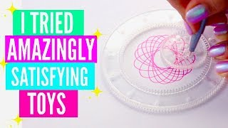 I Tried The Most Satisfying Toys on The Internet// Amazingly Satisfying Children Toys & Science Toys