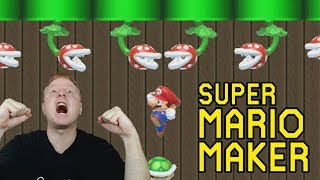 THE RAGE IS STRONG ON THIS LEVEL!!! | SUPER MARIO MAKER - PLAYING MORE VIEWER MADE LEVELS | OH YEAH!
