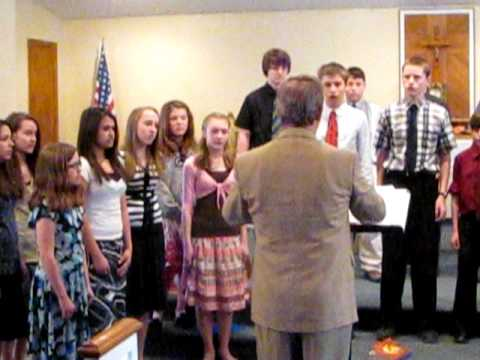 Holy Cross Academy Choir Oneida NY