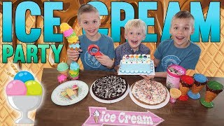 ICE CREAM PARTY!!!
