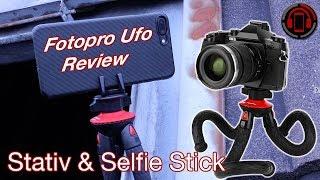 Fotopro UFO Review: Flexibler Outdoor Tripod und idealer Selfie Stick