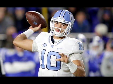 Mitch Trubisky North Carolina Vs Duke 2016