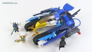 LEGO Legends of Chima Eglor's Twin Bike 70007 set Review ...