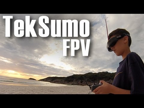 TekSumo FatShark Predator V2 FPV Flight - GoPro Hero3 Silver Ground Footage