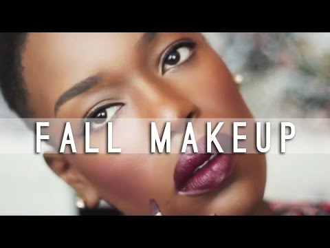 Fall 2014 Makeup | Dark Lips Plum Cheeks