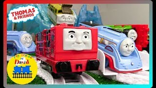 ICY DRIFT CHALLENGE! THE GREAT RACE #276 THOMAS AND FRIENDS TRACKMASTER GLYNN The Adventure Begins
