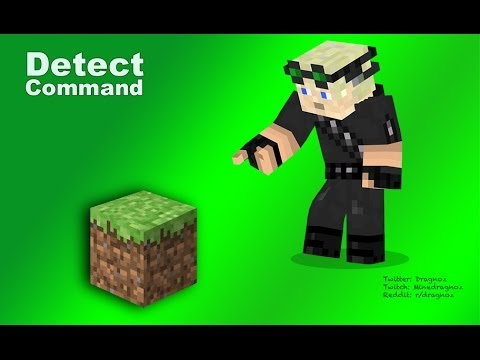 how to make a block detector in minecraft