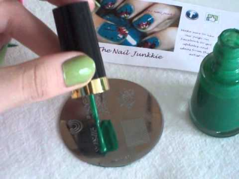 Nail Art Stamping Tutorial Youtube