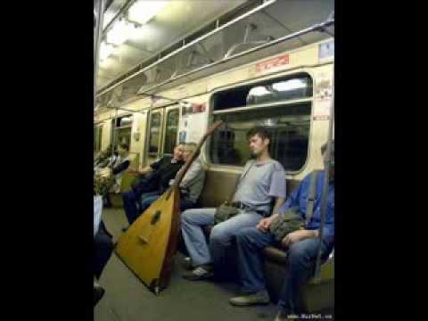 Пассажиры в Московском метро.flv