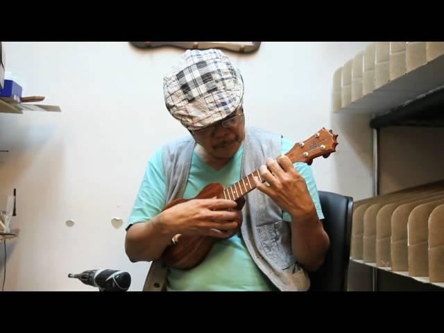 Papa KoAloha - Tuning and Testing a New Soprano Ukulele