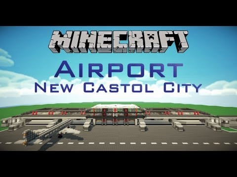 New Castol City Airport Trailer - Minecraft Mega Projekt