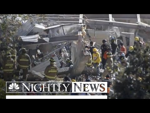 Mexico City Children's Hospital Rocked By Gas Explosion | NBC Nightly News