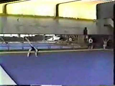 Dina Kotchetkova 1991 Floor Training Video Video