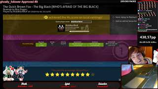WubWoofWolf getting #1 on Big Black w/HDHR 97.86% 1319/1337x | Liveplay w/Chat!