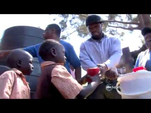 50 Cent Tours Somalia with the United Nations on 'Nightline'