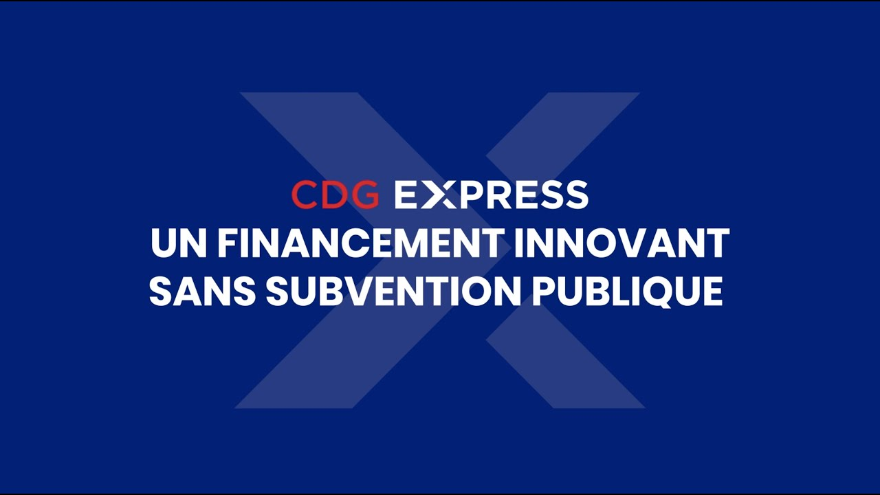 CDG Express - Le financement