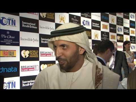 Mohammed Al Mannaei, director, Mina Rashid DP World, Dubai, at World Travel Awards Grand Final 2012