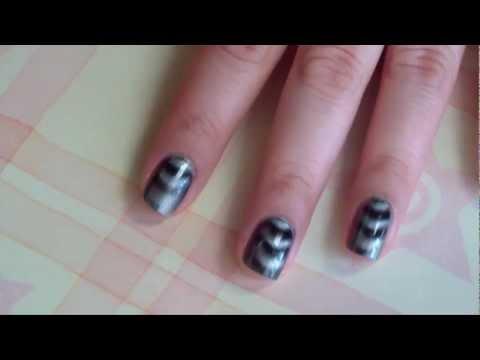 Uñas Magneticas Tutorial y Reseña usando Magnetic Nail Polish