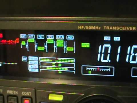 Ham Radio - TT8TT Chad - 30Mt CW on Yaesu FT-950