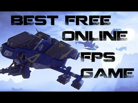 Best Free Online FPS Game: Planetside 2 (Gameplay & Review)
