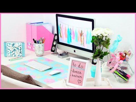 Schreibtisch organisation videolike for Schreibtisch tumblr