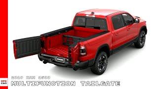 2019 Ram 1500 Truck Multifunction Tailgate Includes Ram Box