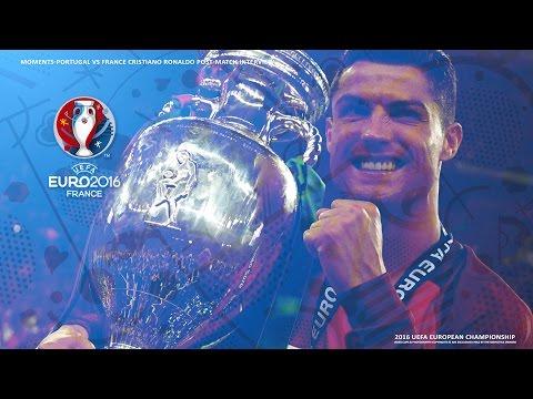 2016 UEFA Euro Moments-Portugal vs France Cristiano Ronaldo Post-Match Interview