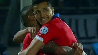 Alexis Sanchez VS  Ecuador Highlights Chile vs Ecuador 2 - 0 (Copa America) 11-06-2015