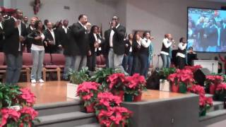 "Terrence Williams singing ""See What The Lord Has Done"""
