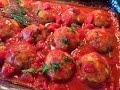 РЫБНЫЕ ТЕФТЕЛИ В ДУХОВКЕ  в нежном томатном соусе.  (FISH meatballs in tomato sauce).
