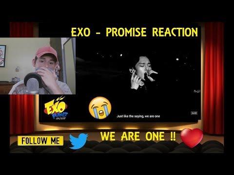 EXO - Promise   약속 (EXO 2014)  REACTION