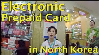 Electronic Prepaid Card in North Korea