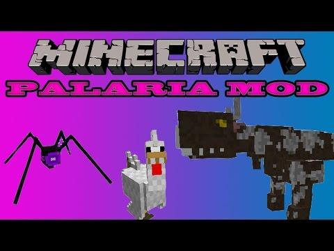 PALARIA MOD - Mobs. Nuevo bioma. Ores. Epic sword y mas - Minecraft 1.5.2 español instalacion