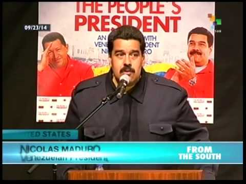Maduro meets with social leaders, organizations in NY