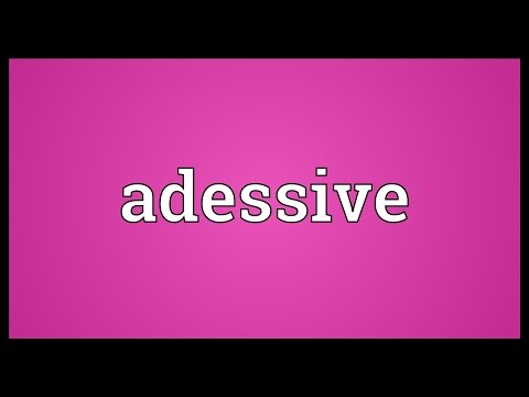 Header of adessive