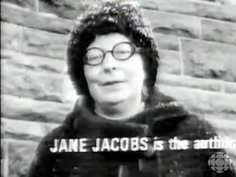 Jane Jacobs on urban design of Toronto & Montreal circa 1969