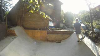 My Homemade Concrete Mini Ramp