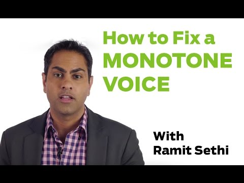 How To Fix a Monotone Voice, with Ramit Sethi