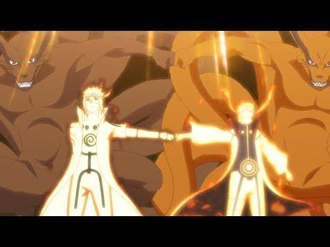 اتحاد ناروتو ومناتو و الكيوبي، صدمة ساسكي من قوة ناروتو الاسطورية، اوبيتو يستدعي الشجرة المقدسة