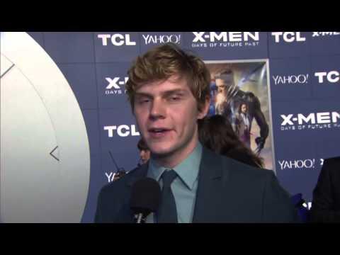 X Men  Days of Future Past  Evan Peters New York Premiere Interview