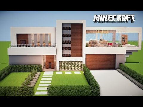 Minecraft Comece o seu mundo +Download casa moderna no superplano