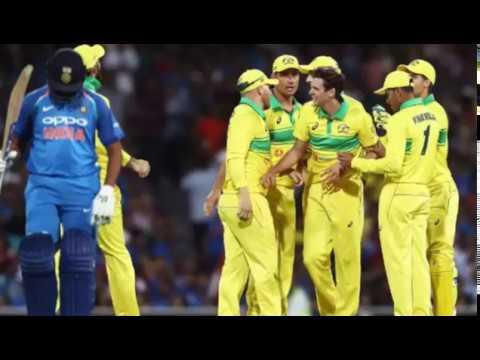 Australia won by 34 runs | #AusvsInd | #IndvsAus | #Dhoni | 10000 runs | Australia win  |