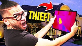 We CAUGHT Footage Of The Home INVADER!! **YOU WONT BELIEVE WHAT WE SAW!!** Secret Hidden Camera!