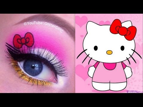 hello kitty makeup tutorial youtube